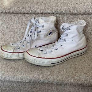 White Converse!
